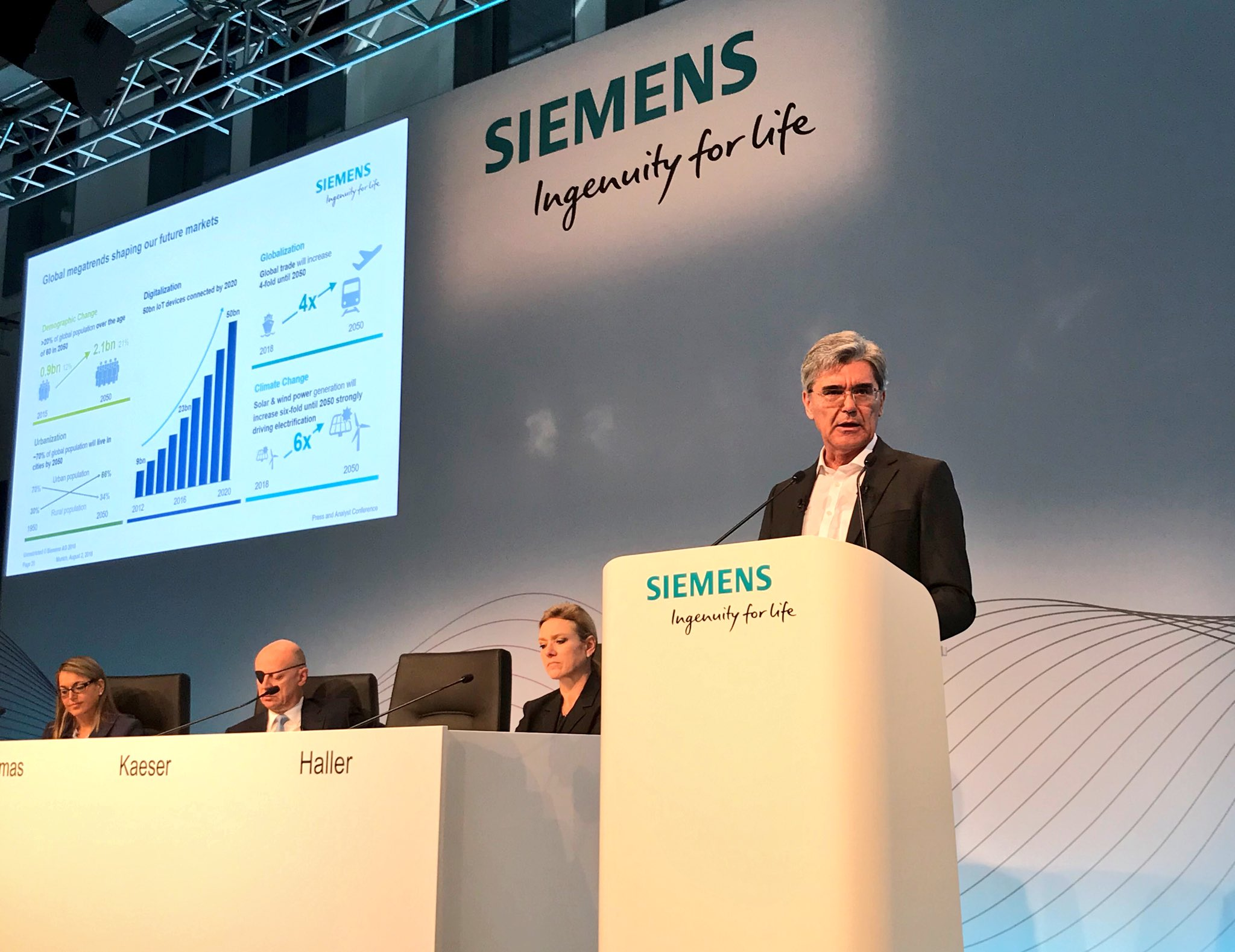 Siemens' Mobility division becomes a separate company