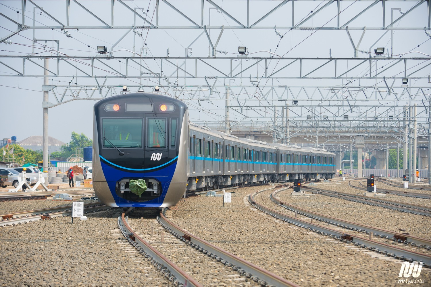 Eur 550 Million For Jakarta Mrt Phase Two