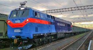 The first GE locomotive entered services in Ukraine