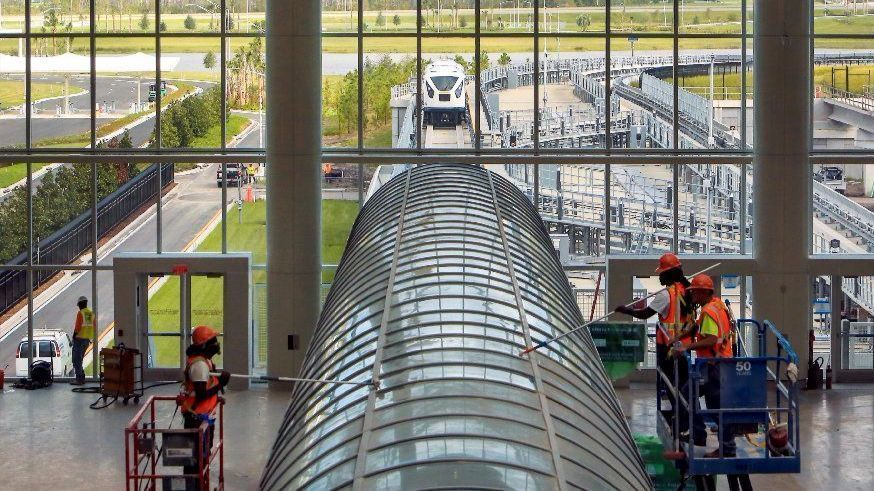 Funds for Phase 2 rail expansion to Orlando Airport, secured