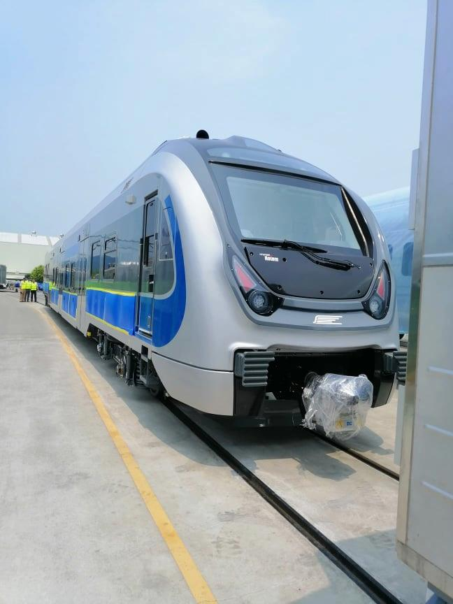 Korean trains for Tunis