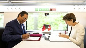 Swiss-Moroccan rail cooperation