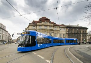 Tango trams for Kraków