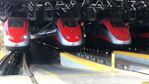 ETR500 Frecciarossa trains