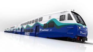 BiLevel commuter rail cars