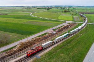 Intermodal pilot train