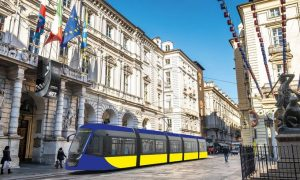 New trams for Turin