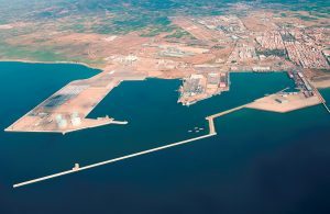 Sagunto Port rail access