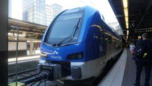 Mälartåg double-decker trains