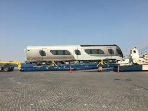 Doha metro trains