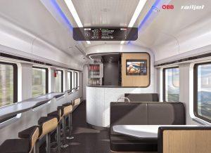 Viaggio ÖBB train