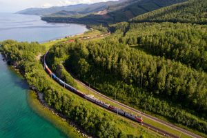 the speed of container trains