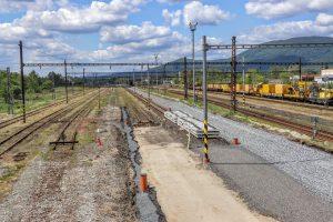 Czech-Poland railway line