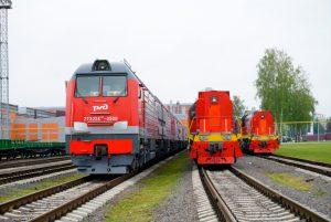 2TE25KM diesel freight locomotives