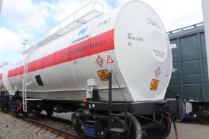 Tikhvin-produced tank cars