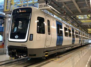 Movia C30 metro trains