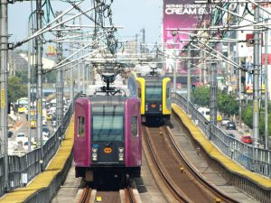 Manila LRT-1 line