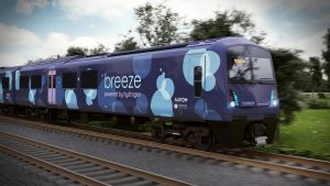 Breeze hydrogen train