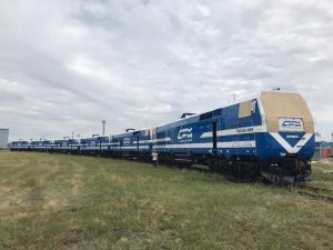 GE locomotives for CFM