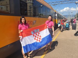 Rijeka-Prague train service