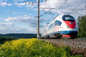 Russian high-speed trains