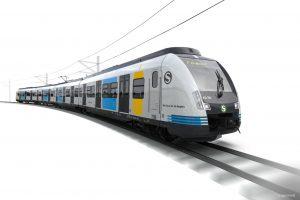Stuttgart S-Bahn trains