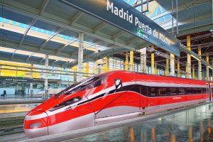 Frecciarossa 1000 high-speed trains