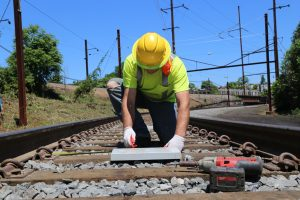 Positive Train Control installation