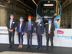 new RER train for Paris