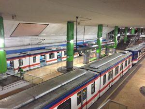 Monterrey commuter train