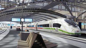 new high-speed ICE trains