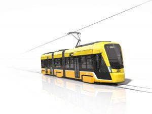 Tramlink trams