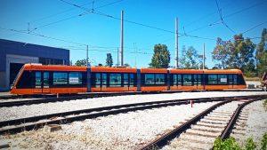 Citadis X05 trams for Athens