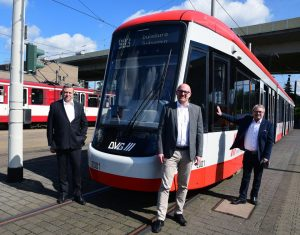 Flexity tram for Duisburg