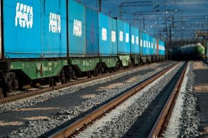 China-Europe intermodal container transport
