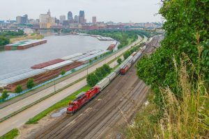 Detroit River rail tunnel