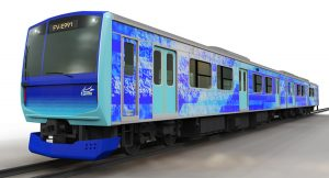 hydrogen-electric train