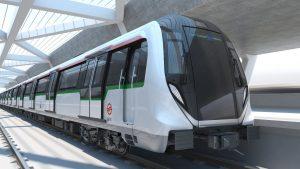 Movia metro train design