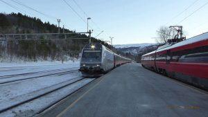 long-distance trains