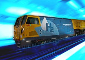 Hydrogen rail milling machine