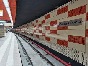 Metropolis metro trains