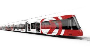 low-floor Citadis trams