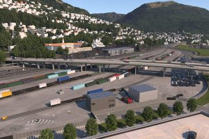 emission-free freight terminal