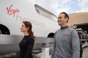 first hyperloop passenger tests