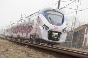 hybrid TER train