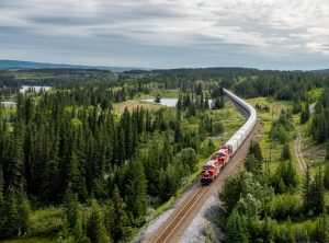 hydrogen-powered locomotive