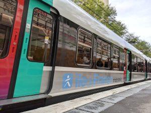 RER B train fleet