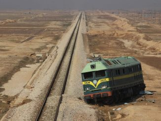 railway plans in Middle East