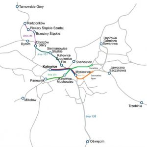 Katowice rail agglomeration