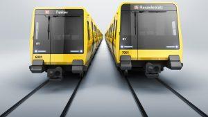 Berlin metro cars